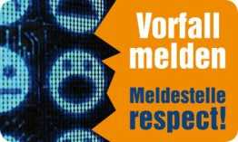 meldestelle respect